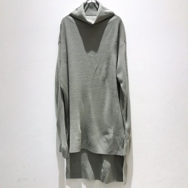 1枚のみ発見!!keisuke yoneda  difference Turtle-neck knit gray