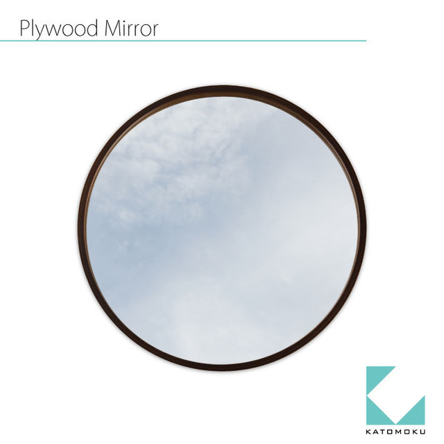 KATOMOKU plywood wall mirror km-48LB