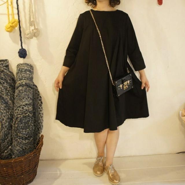 Topanga Fashion クラシックワンピース ブラック
