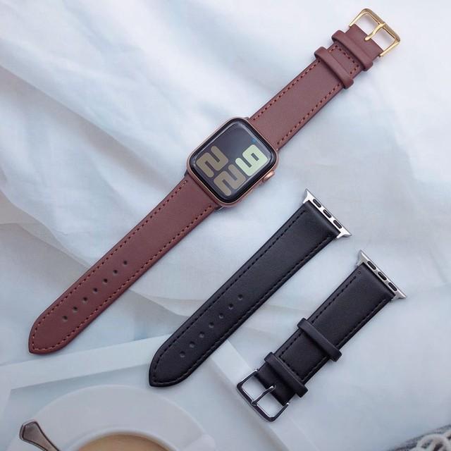 Black&Brown apple watch belt