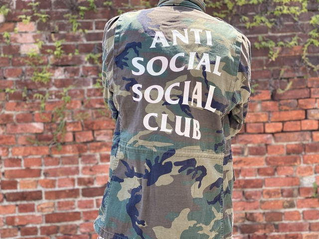 ANTI SOCIAL SOCIAL CLUB × ALPHA INDUSTRIES M-65 DEFENDER JACKET CAMO LARGE 60HE6135