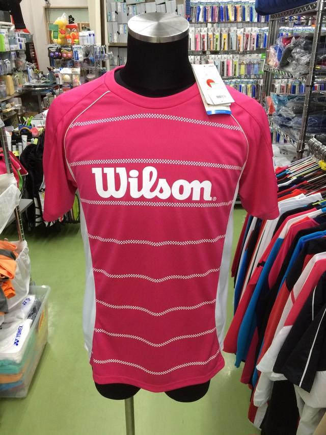ウィルソン Tシャツ WRJ4404MG - メイン画像