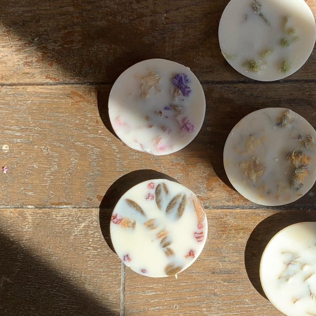 """"""" scented soy wax rounds / センティッド ソイワックス"""""""