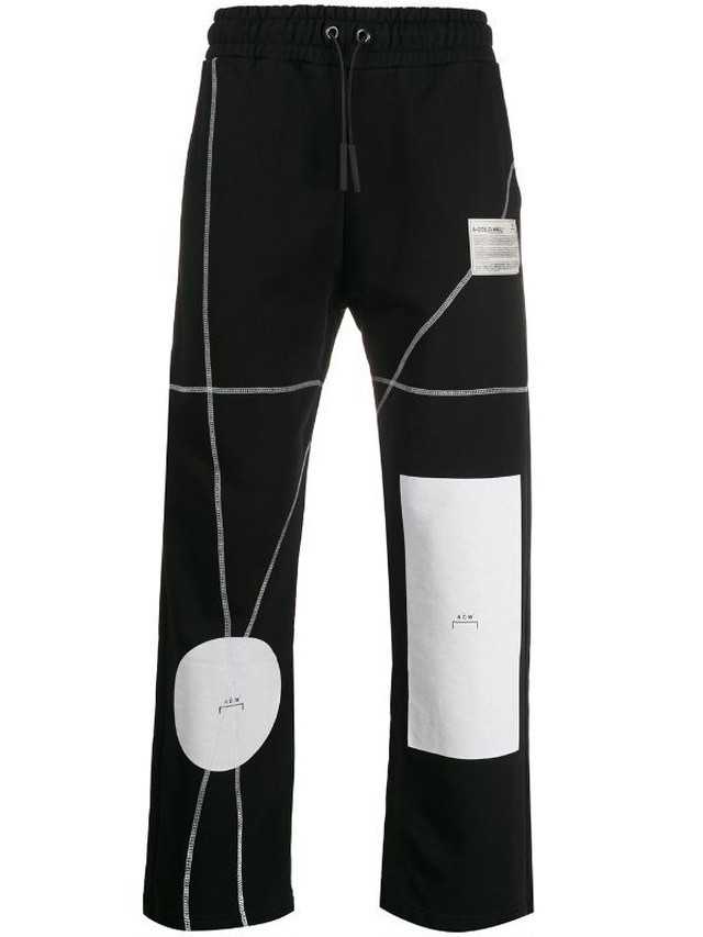 A-COLD-WALL* / FELPA GEOMETRIC PRINT TROUSERS
