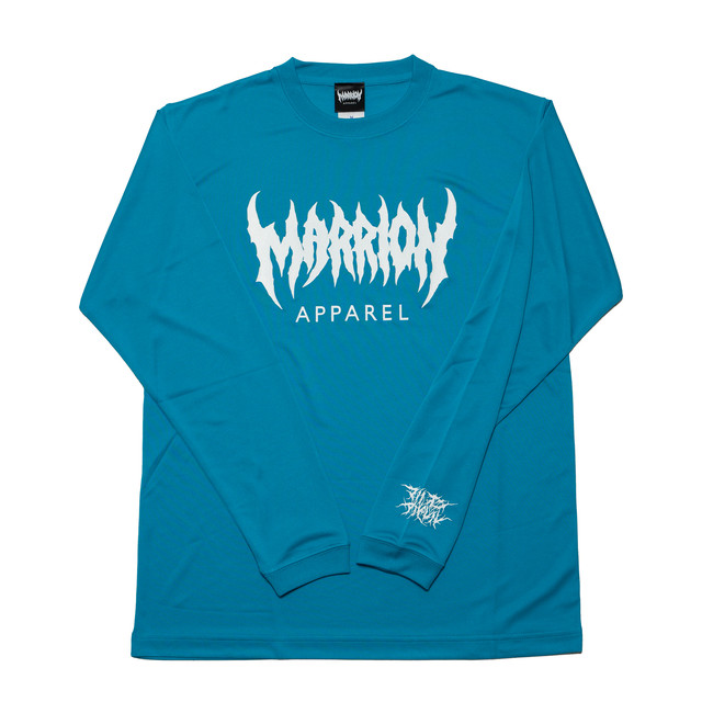 【DRY】MARRION APPAREL DRY LONGSLEEVE (ターコイズブルー)