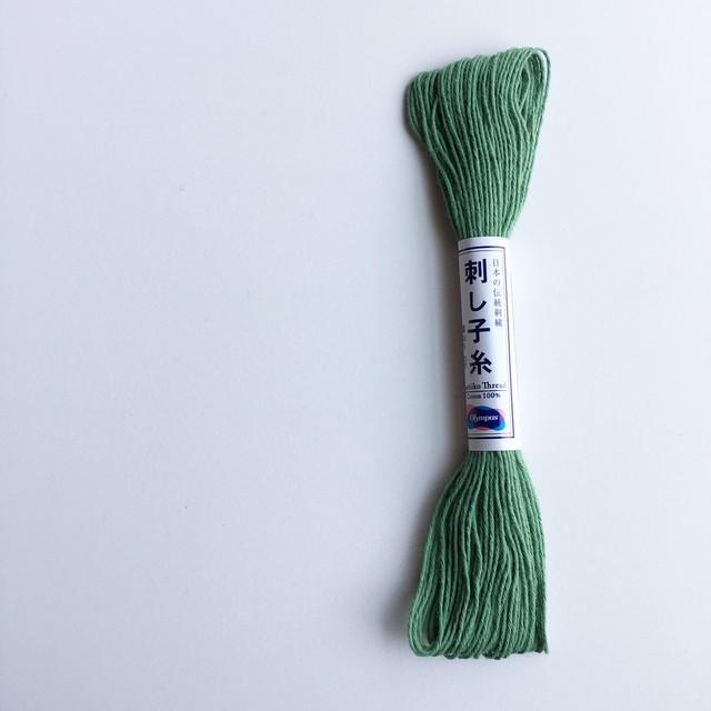 オリムパス刺し子糸:単色 No.7