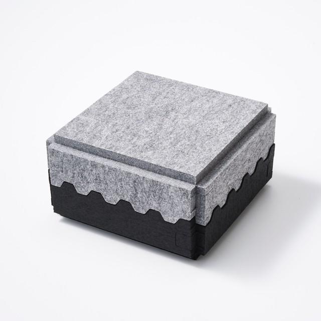 feelt 3色展開 GEAR BOX【日本製】