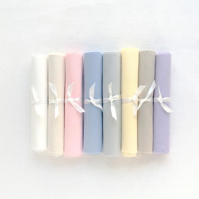 【annas Select】布と糸ボックス -ブルー-【10月入荷予定】