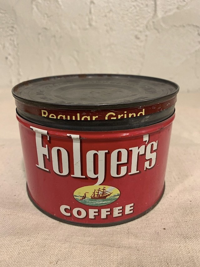 "TIN CANS "" FOLGER'S COFFEE """