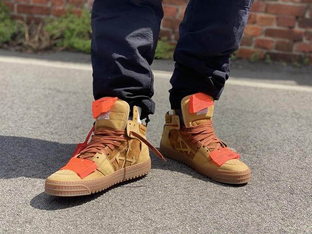 OFF-WHITE CAMEL NO COLOR SUEDE SNEAKER 41 74008
