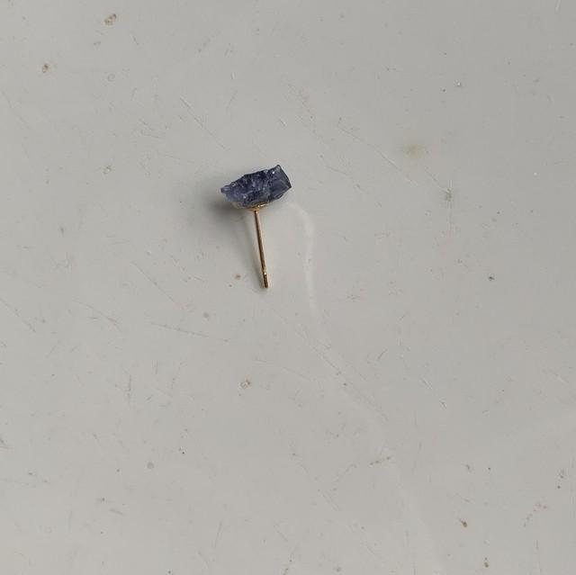 Iolite earring ①