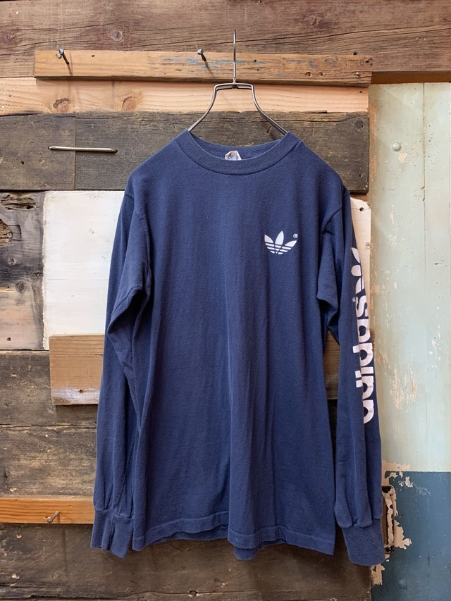 80's adidas long sleeve tee