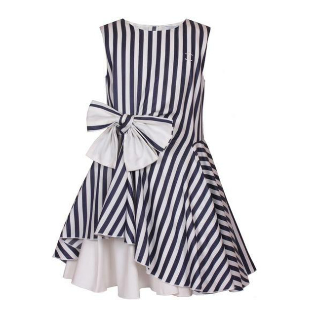 LILY DRESS   MONROE STRIPE  =JESSIE AND JAMES =