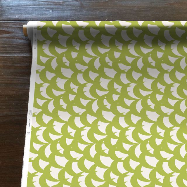 MountainWind(黄緑)[50cm×150cm]cotton100%