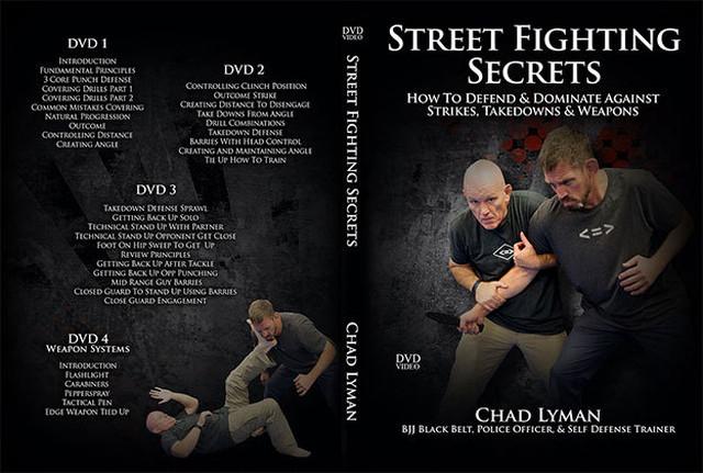 チャド・ライマン ストリート ファイティング シークレット DVD4枚セット