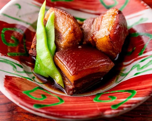 島豚ラフテー 5分温めるだけ。沖縄簡単お料理キット一皿分