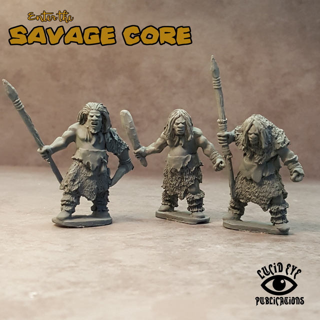 NEA1 Neanderthal Bods 1 (3 figures pack)