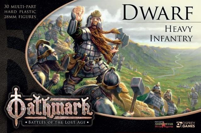 ドワーフ・ヘビー・インファントリー[30体入り](Dwarf Heavy Infantry)