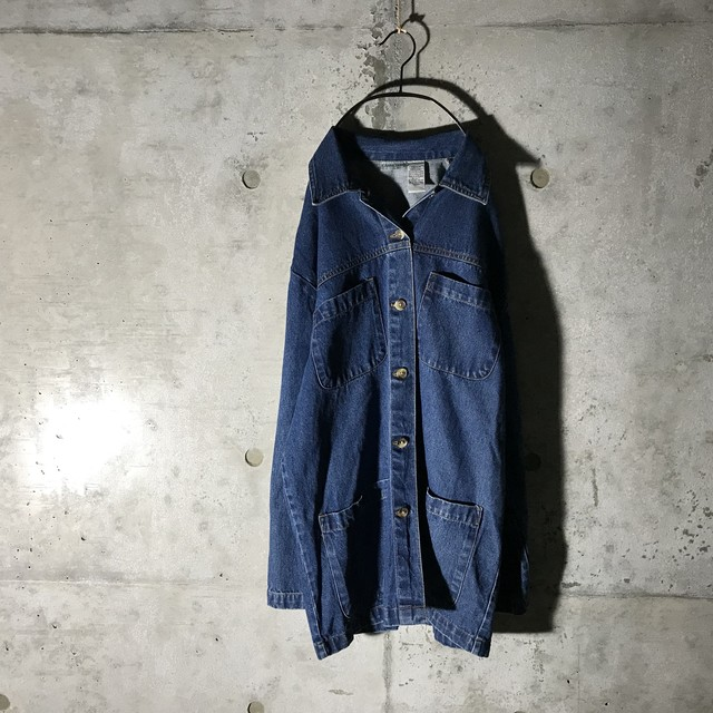 [used] trendy denim jacket