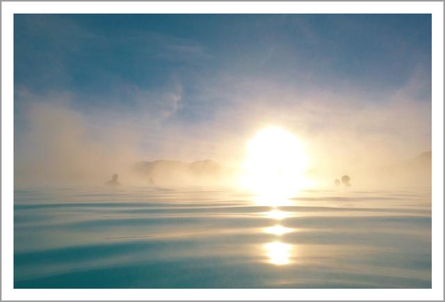 BlueLagoon(ブルーラグーン)   アイスランドの風景ポストカード