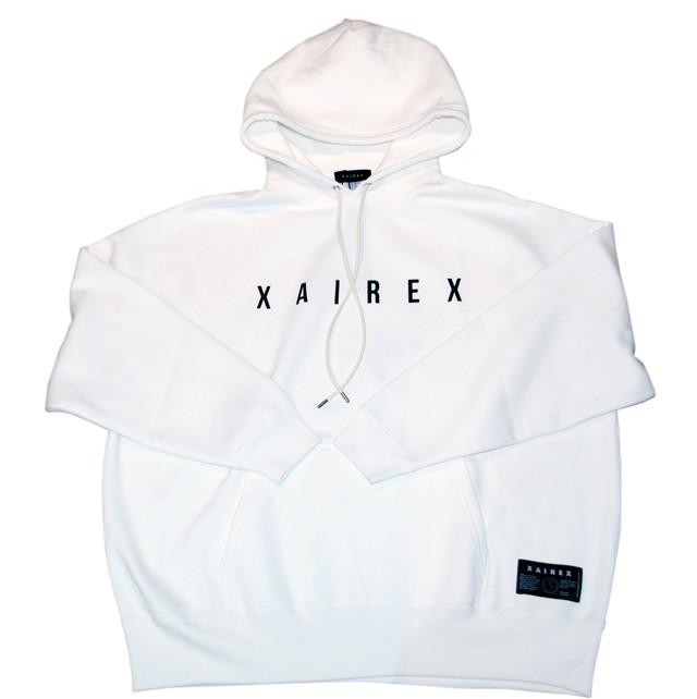 XAIREX MAD HOODIE (WHITE)[XAI-0034]