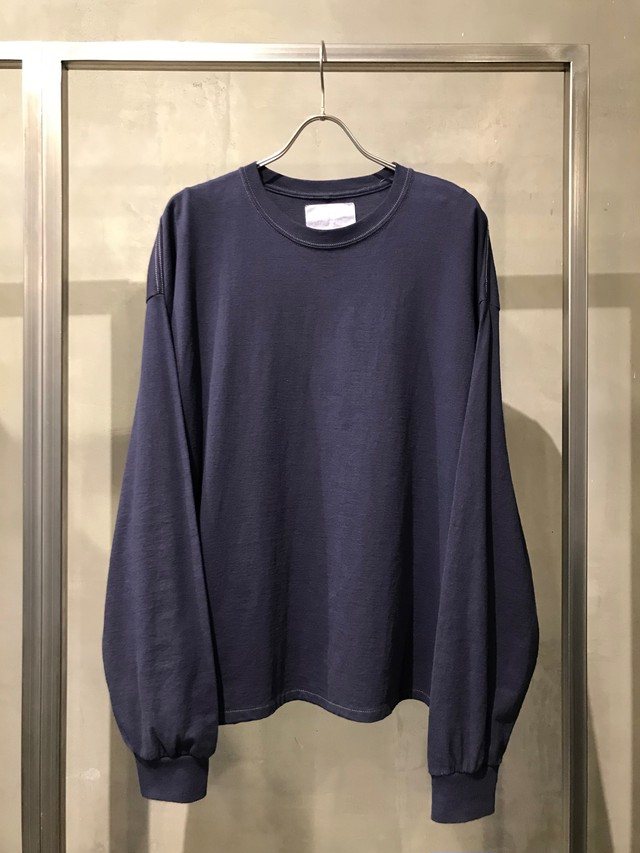 TrAnsference wide fit long sleeve T-shirt - midnight