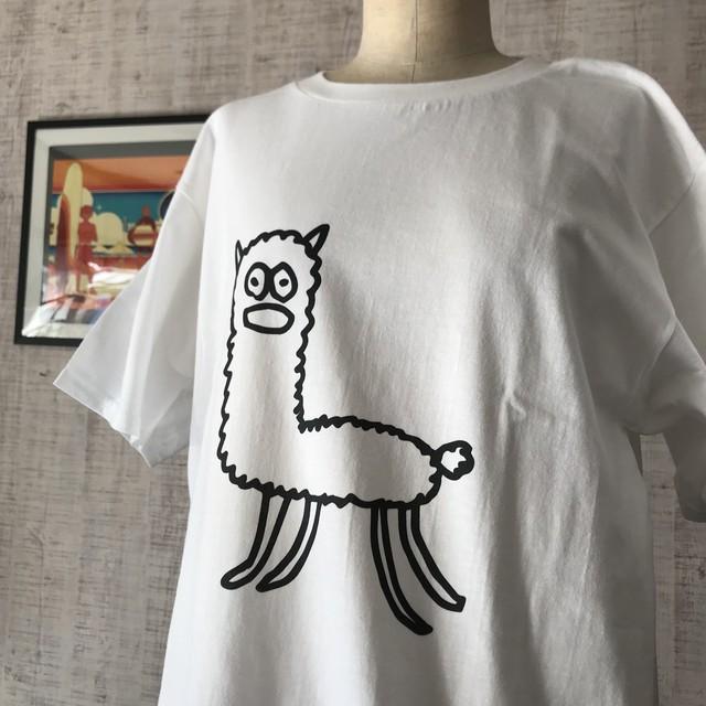 【巨匠動物園】アルパカさんTシャツ