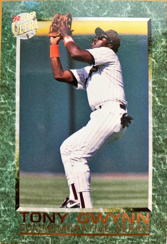 MLBカード 92FLEER Tony Gwynn #S-2 PADRES