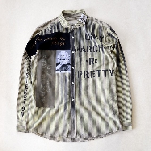 anarchy shirt 028(monochrome)