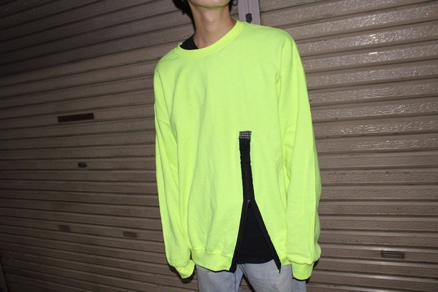 Remake Zip Yellow Sweat