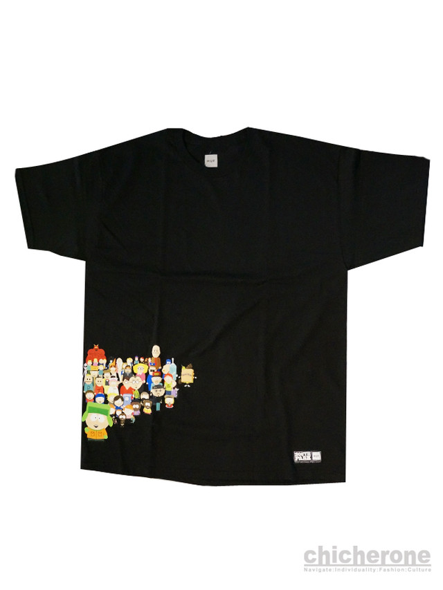 【HUF】 TODD FRANCIS NEVER SAY DIE TEE / BLACK