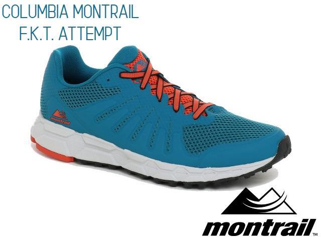 【montrail】 COLUMBIA MONTRAIL F.K.T. Attempt(Siberia Orage)