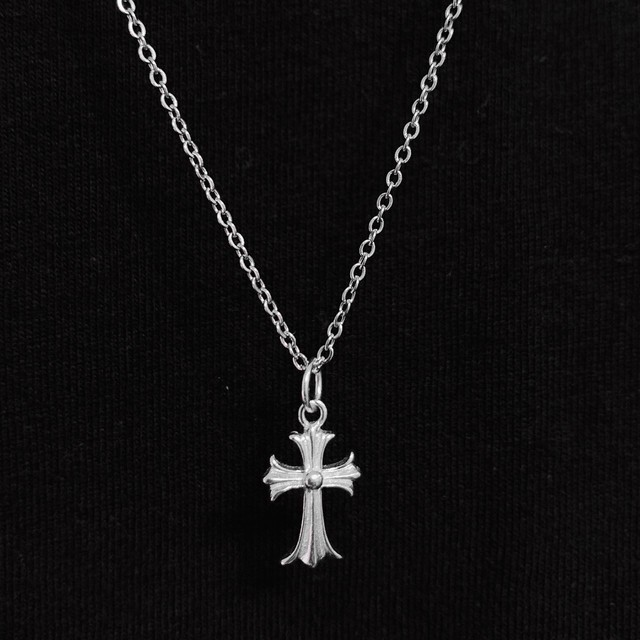 s925 Cross Necklace 【SILVER】