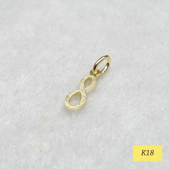 K18ナンバーネックレス 『8』 ♡金運/財運/ソウルナンバー/ラッキーナンバー♡