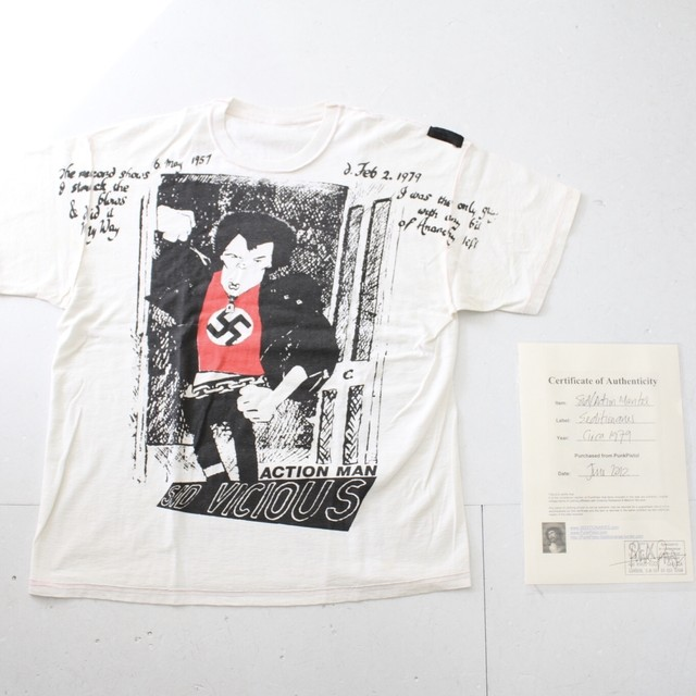 【SEDITIONARIES】SID/ACTION MAN Tee