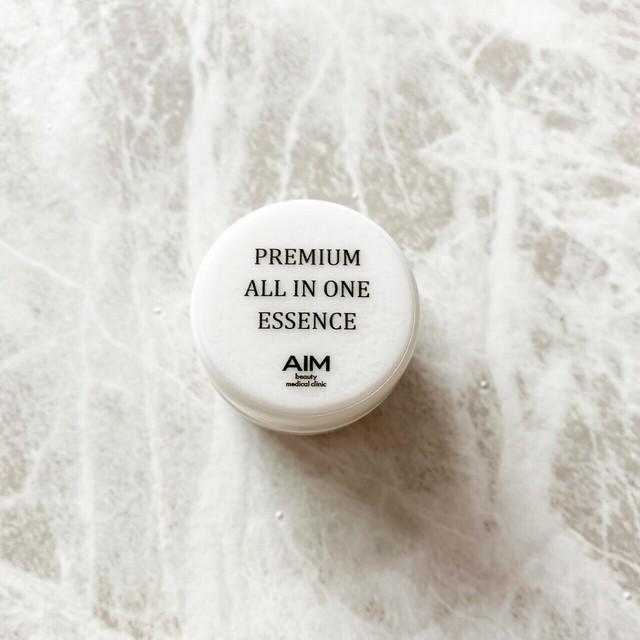 PREMIUM ALL IN ONE ESSENCE ヒト幹細胞培養美容液 4g お試しサイズ オールインワン 敏感肌にも 皮膚科医監修 ドクターズコスメ