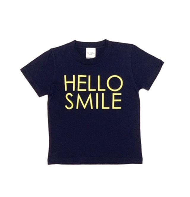 HELLO SMILE KID'S Tシャツ 児童虐待防止オレンジリボン活動へのチャリティー