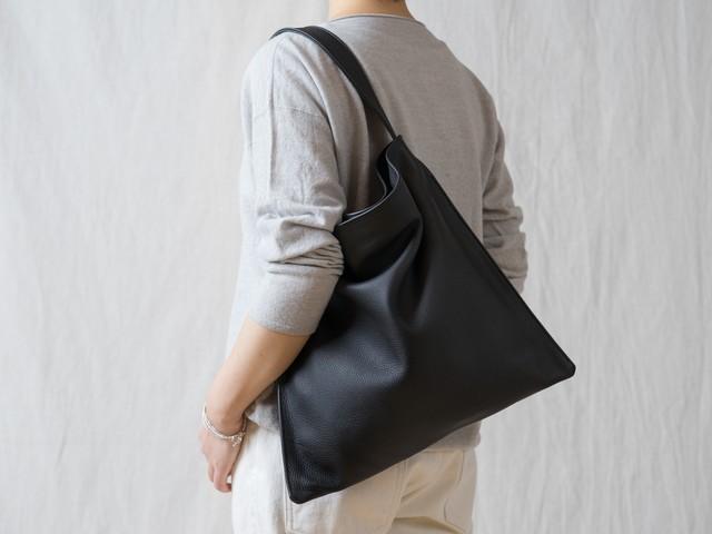 Holiday bag レザーブラック