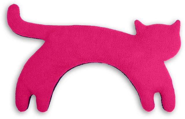 Leschi ネックウォーマー(ネコ) ピンク