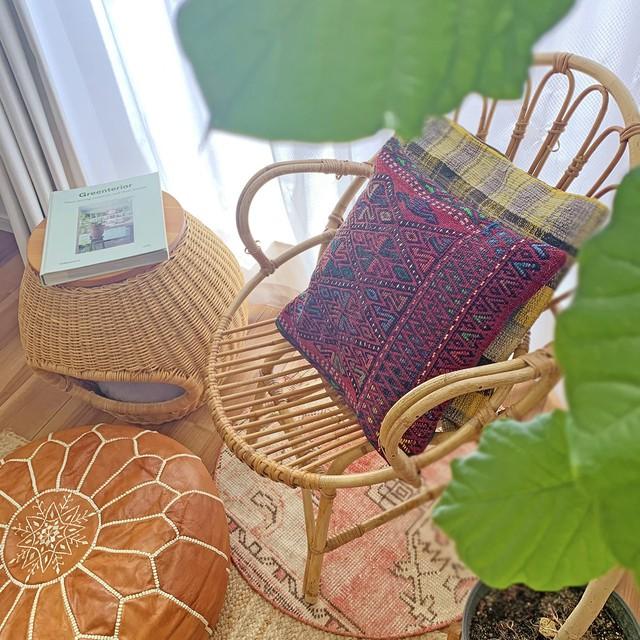 手織り キリム ジジムクッション S C110