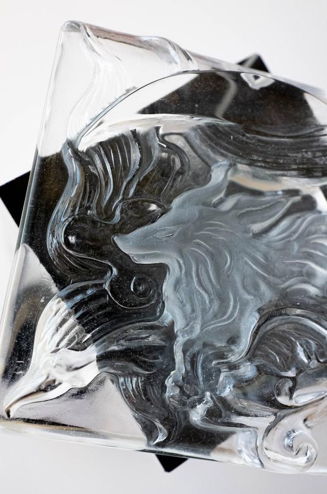 Carving Quartz - 011 Ninetails fox