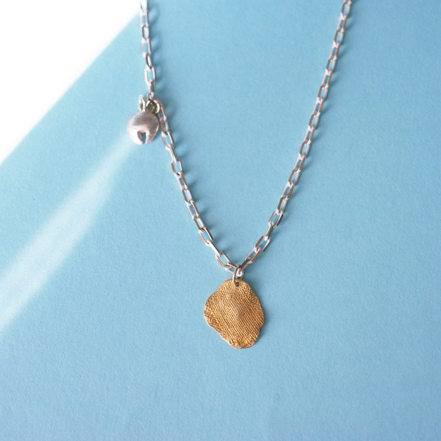 MATERIAL - NECKLACE: GAUZE gold
