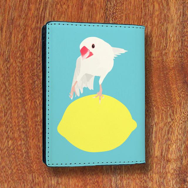 amycco.×ことりちゃん 文鳥ちゃん カードケース(水色)