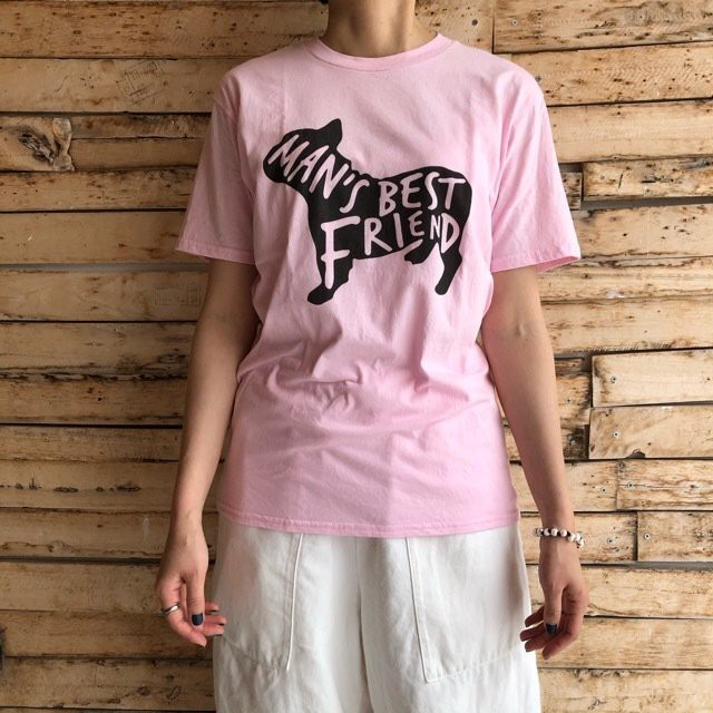 TOPANGA Lady's Best Friend Tシャツ ピンク