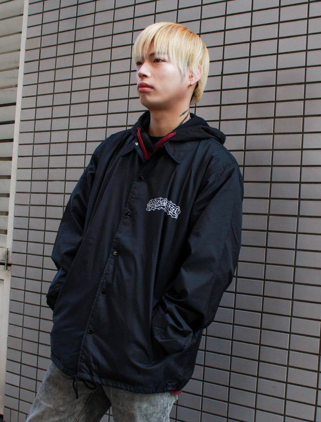 "BREAK ""BOMB"" COACHES JACKET -WHITE-"