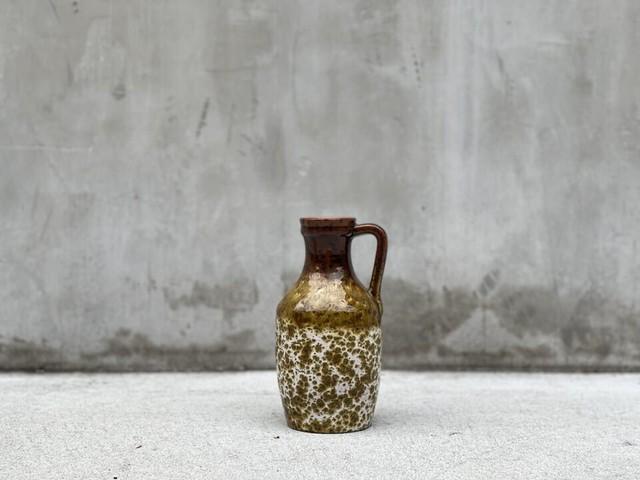 ヴィンテージ花器  Fat Lava Vase B(送料税込) #012402