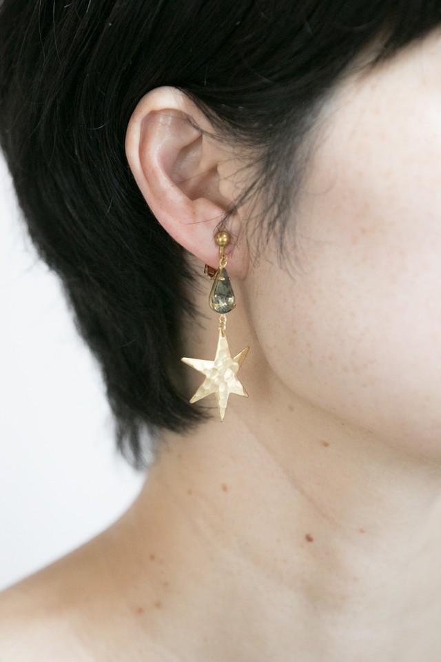 【TAMARI】Starglass drop pierce / earring
