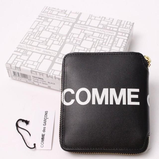 COMME des GARCONS コムデギャルソン 二つ折り財布[全国送料無料] r015854