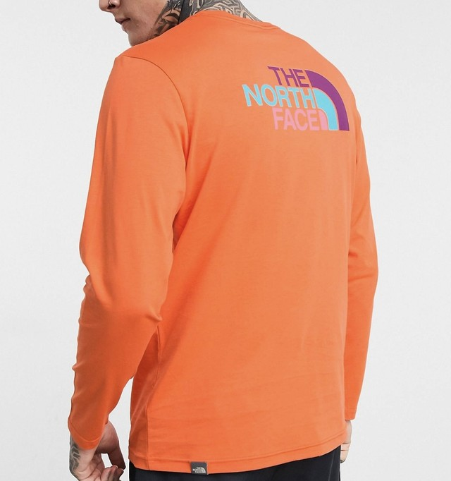 The North Face  long sleeve / orange