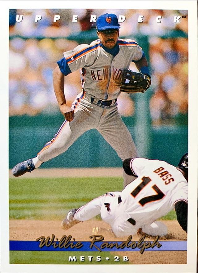 MLBカード 93UPPERDECK Willie Randolph #419 METS